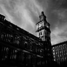 Melbourne GPO Clock tower by Ajmdc