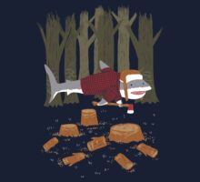 LumberJack Shark Kids Tee