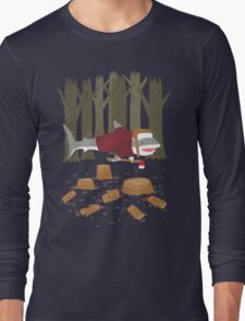 LumberJack Shark Long Sleeve T-Shirt