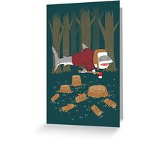 LumberJack Shark Greeting Card