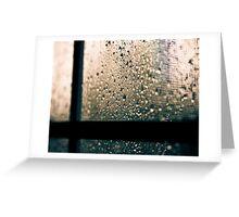 i love rainy days ♥ Greeting Card