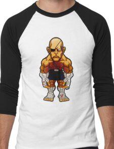 Sagat v.2 Men's Baseball ¾ T-Shirt