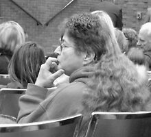 pensive moments (the mother of all mullets discovered) by WonderlandGlass