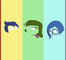 Inside Out Minimalist by ClaireCrisci