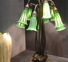 ten lilly lamp/ L.C. Tiffany by WonderlandGlass