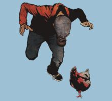 THE RETURN OF LEROY VS THE EVIL ZOMBIE CHICKEN! by matthewdunnart