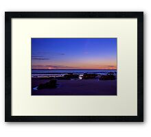 The Guardians - Sunset Framed Print