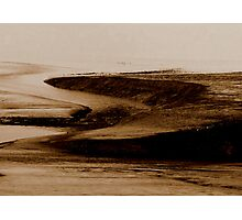 Mud Flats at Saints Rest... 3 Photographic Print