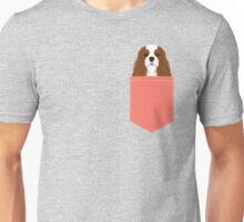 Bode - King Charles Spaniel customizable pet art for dog lovers  Unisex T-Shirt