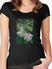 Summer's Fading Beauty Women's Fitted Scoop T-Shirt
