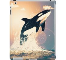 sunset orca iPad Case/Skin