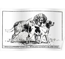 All about dogs a book for doggy people Charles Henry Lane 1900 0051 Beagle_jpg Poster