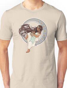 Steampunk Mucha Girl Unisex T-Shirt