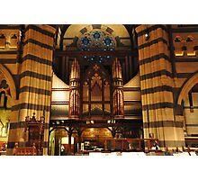 Church Organ Pipes Photographic Print