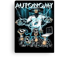 Autonomy Canvas Print