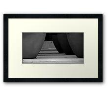A Pot Standing Alone Framed Print