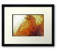 golden girl Framed Print