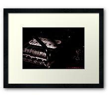Di-Marzio in Black and White. Framed Print