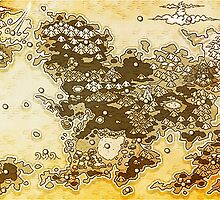 Pokemon Mystery Dungeon - Map by Daru