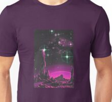 Purple Planet Unisex T-Shirt