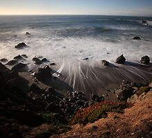California Coast Near Pismo Beach by Brian K Bostwick