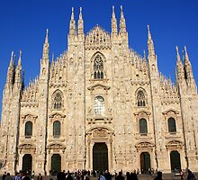 Milan Cathedral by Indrani Ghose