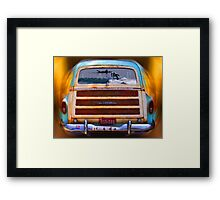 Let the Good Times Roll_Carpinteria, CA Framed Print