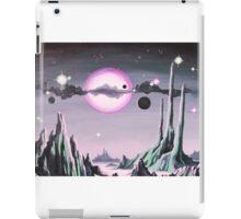 Purple Moonscape iPad Case/Skin