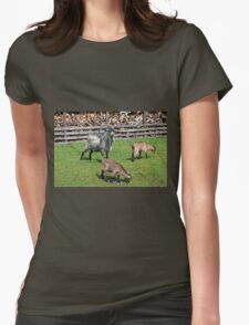 In the Farm Womens Fitted T-Shirt