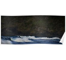 Surf, Blinky Beach, Lord Howe Island Poster