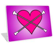 Heart Baton Twirling 2 Design  Laptop Skin