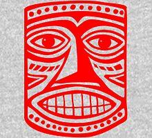 Tiki Mask II - Red Unisex T-Shirt