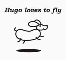 Hugo loves to fly by newbs