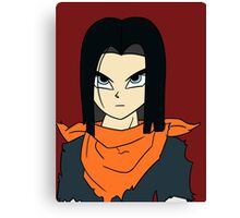 Android 17 Canvas Print