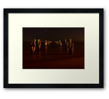 Night at Clifton Springs Framed Print