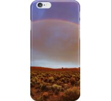 Post tstorm Rainbow iPhone Case/Skin
