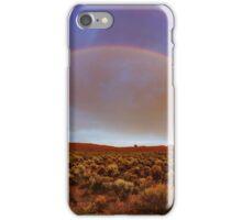 Post tstorm Rainbow iPhone Case/Skin