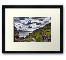 Ness Sky Framed Print