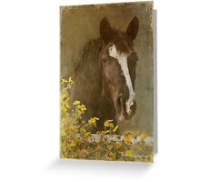 Vintage Bella Greeting Card