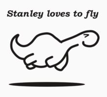 Stanley flies by newbs