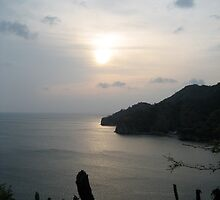 Still Water In Taganga by Tina Cacho