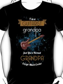 Grandpa Like a Guitarist T-Shirt