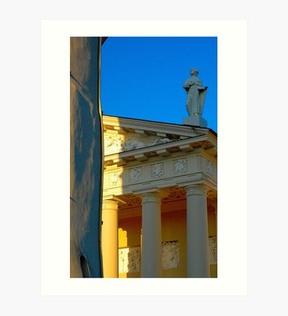 """Temples - """"The Cathedral of Vilnius (LT)"""" p.3 Art Print"""
