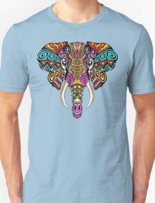 Mosaic Elephant: Rainbow Beast Unisex T-Shirt