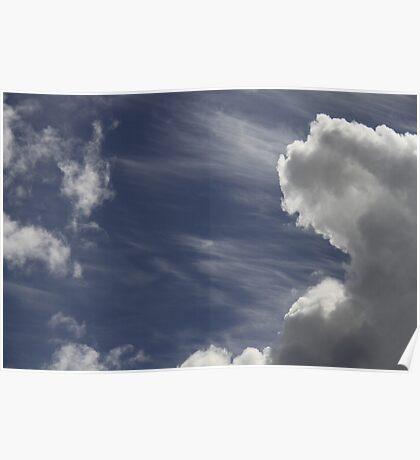 Cloud Landscape Poster