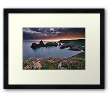 Cornwall - Kynance Cove Framed Print