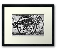 An old Cart Framed Print