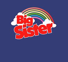 Big sister rainbow  Womens Fitted T-Shirt