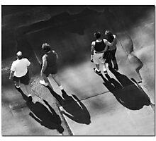 Generation Gap Photographic Print