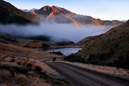 Misty Moke Lake by Chris Gin